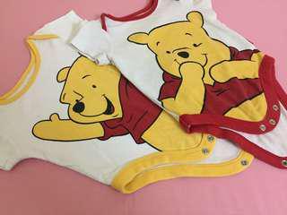 2pc Disney baby pooh