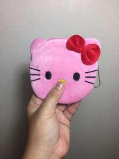Cute Pink Hello Kitty Coinpurse Wallet