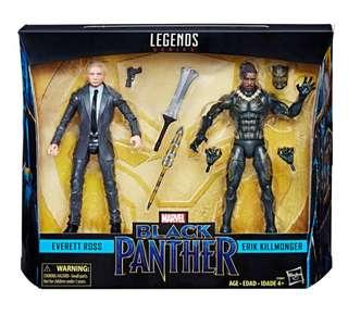 Marvel Legends - Erik Killmonger & Everett Rose (訂)