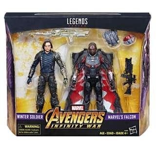 Marvel Legends - Winter Soldier & Falcon (訂)