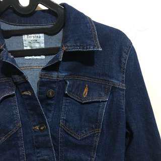 Bershka Denim Jaket/ Jaket Jeans/ denim jacket/ jeans jacket