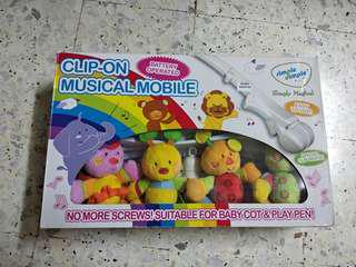 Clip-on Musical Mobile