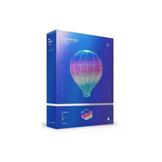 (UNSEALED) BTS Wings Tour DVD Fullset With Poster