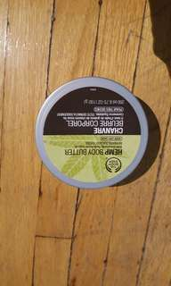 Body shop hemp body butter