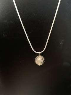 925 Sterling Silver Drop Necklace