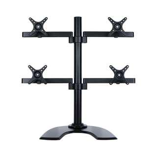 "Monitor Desk Mount for 4 X 27″ Height (for monitors from 17"" to 27"")"