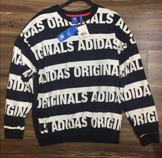 [BNWT] Adidas Originals Trefoil All Over Sweater Pullover