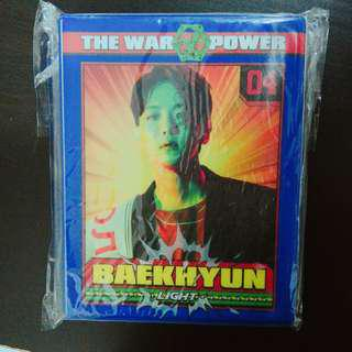 BAEKHYUN POSTCARD COLLECT BOOK