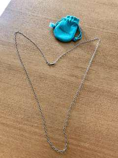 Tiffany sliver necklace
