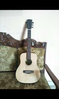 Acoustic baby guitar solid