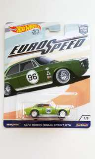 Hot Wheels Euro Speed Alfa Romeo Giulia Sprint GTA