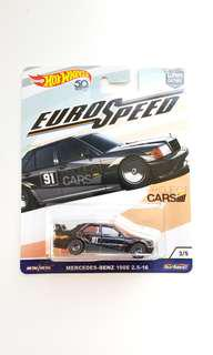 Hot Wheels Euro Speed Mercedes-Benz 190E 2.5-16