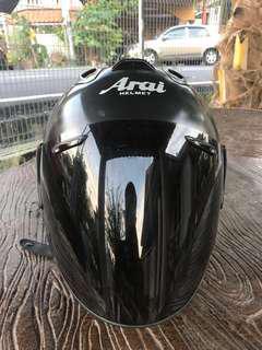 Helmet arai ram3 matte black visor smoke