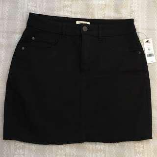 Black Denim Skirt (New with Tags)