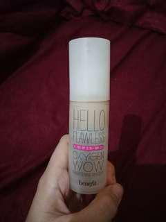 Foundation benefit hello flawless