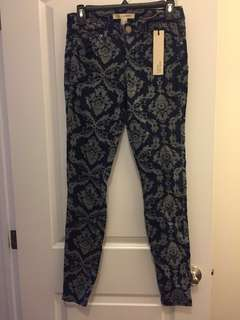 Forever 21 printed jeans