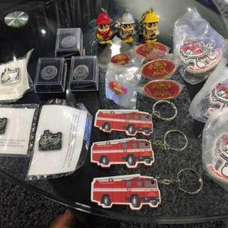 🚚 ❗️SALE❗️ SCDF Collectibles (Pins & Keychains)