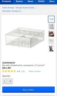 Ikea Godmorgon Organizer