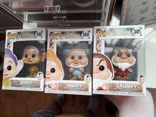 Snow white funko pops!