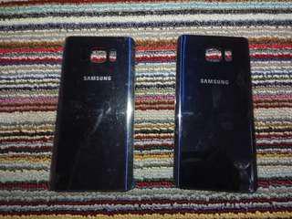 SAMSUNG Galaxy Note 5 Tutup Belakang/Backdoor/Back Cover Coral Blue
