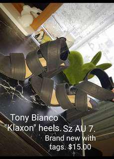 "Tony Bianco ""Klaxon"" heels"
