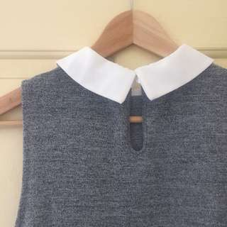 Dotti Grey Top (XS)