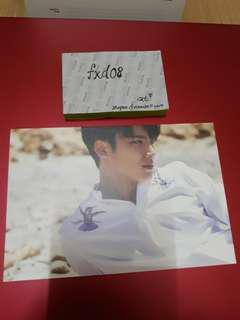 Mingyu Seventeen Album Postcard