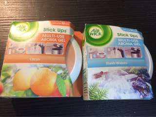 🚚 Air freshener | Air Wick Stick Ups | Aroma Gel | Fresh Deodorizer