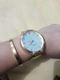 ❤REPLICA KATE SPADE GOLD WATCH