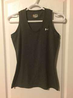 Under Amour Sport top , black grey, very good condition , size S