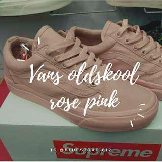 Vans oldskool rose pink