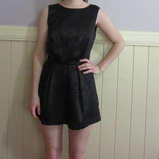 New Glassons Black Playsuit
