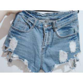 ripped jeans short k 28