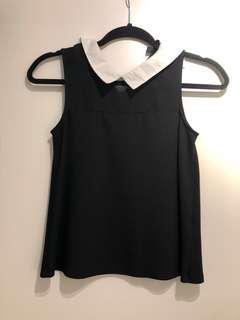 TOPSHOP Top - XS or 4 // Black