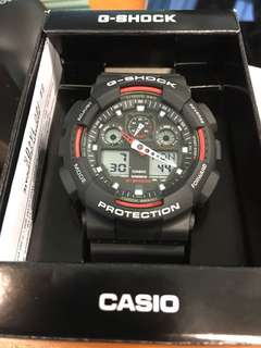🚚 Brand new Casio G-Shock Red/grey color sport watch for sale