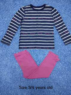 3/4 years old - Kids Cloth Shirt Girl