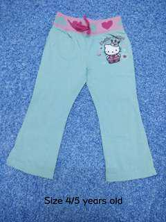 4/5 years old - Girl Pants Trouser