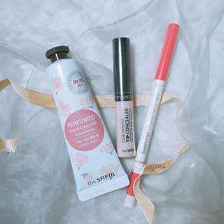 The Saem Bundle [Brightener + Lip Liner + Hand Clean Gel]