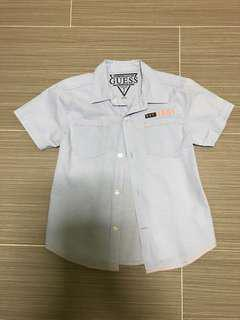 Authentic Guess Kids / Boys Short Sleeves Shirt
