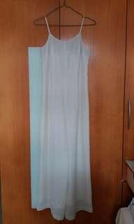 米色裙褲晚裝