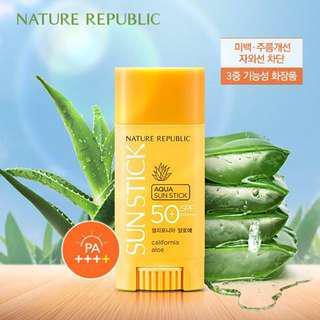 Nature Republic California Aloe Aqua Sun Stick