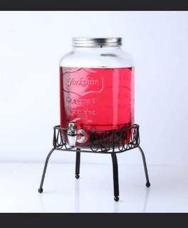 For rent: Yorkshire Jar Dispenser with stand