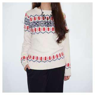 MARKDOWN Knitted sweatshirt