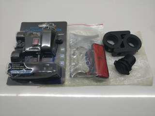 Fog light Clamp/Strobe Stoplight & 12V socket.