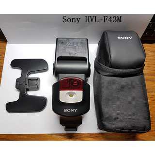 [公司貨過保] Sony HVL-F43M (a7 a7ii a7m2 a7r2 a7rii a6000)