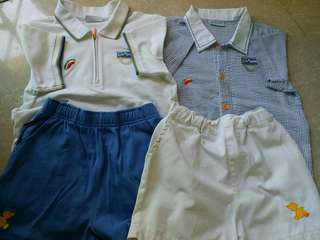 迦南幼稚園夏季校服及運動服套裝