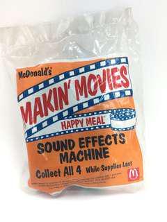 McDonald's Toy (Makin's Movies-Sound Effects Machine)