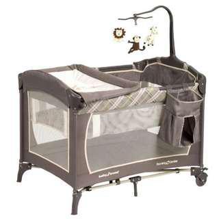 Air Mattress+ Babytrend Playpen (Comfi breathable3Dmattress+pillow)