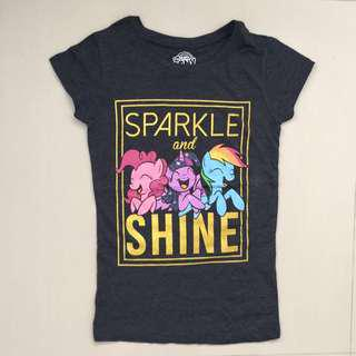 🚚 Brand New My Little Pony T-Shirt For 4-7y