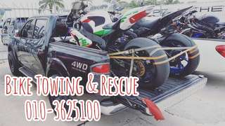 Bike Towing & Rescue 24hours